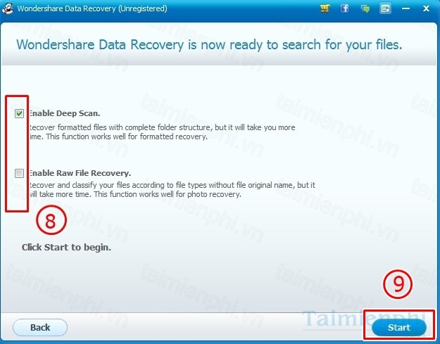 tai wondershare data recovery