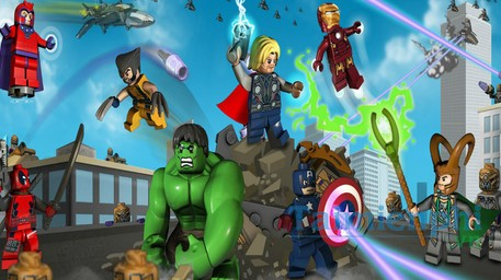 Download game Marvel Lego cho dien thoai