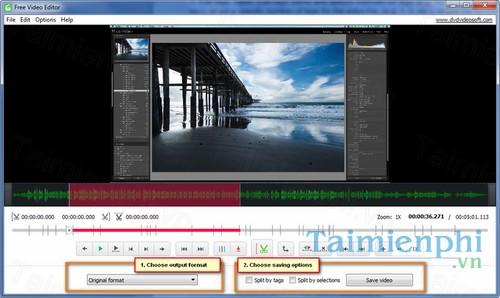 Download Free Video Editor 10 4 - Chỉnh sửa, biên tập video -taimienph