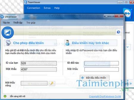 Tải UltraViewer 6 2, phần mềm điều khiển máy tính từ xa -taimienphi vn