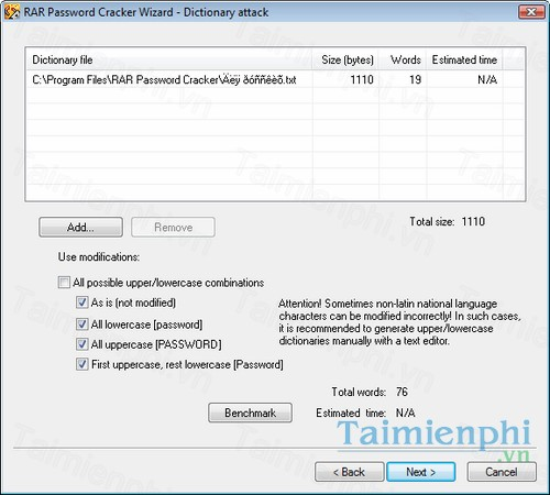 Download RAR Password Cracker 4 40 - Khôi phục mật khẩu cho