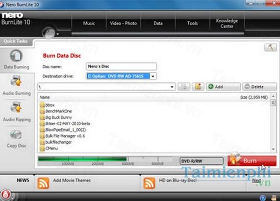 download nero burnlite