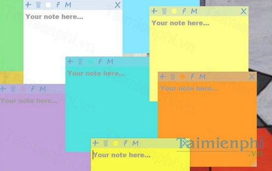 download sticky notes
