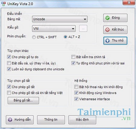 download unikey vista
