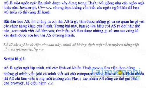 download hoc flash trong 24 gio