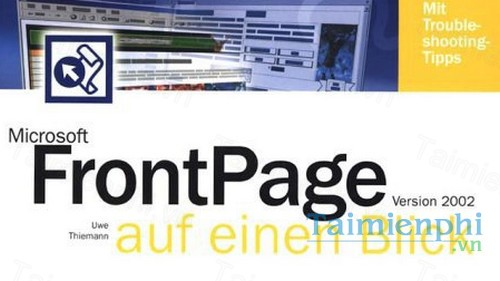download microsoft frontpage 2002 toan tap