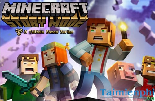download minecraft story