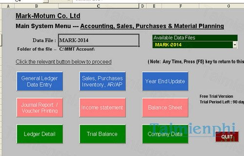 download mmt account business