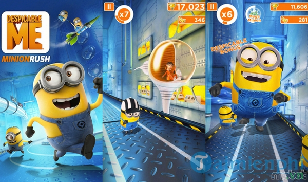 Download Despicable Me: Minion Rush cho iOS 4 7 0 - Game kẻ cắp mặt tr