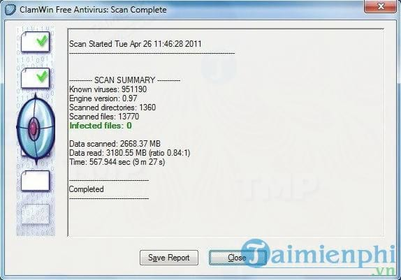 Download ClamWin Free Antivirus Definition Files 31 july (daily) 2019