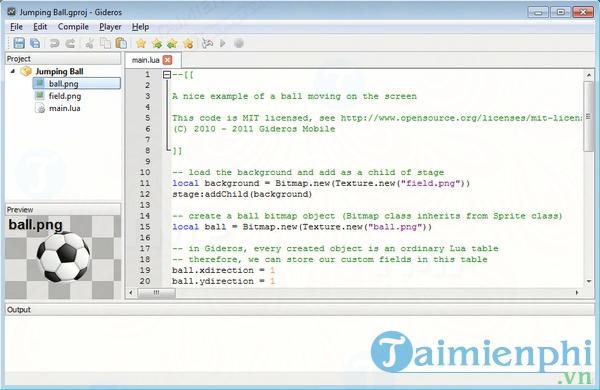 Download Gideros 2019 5 1 - Tạo ứng dụng bằng HTML và Javascript -tai