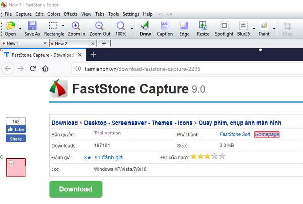 download FastStone Capture