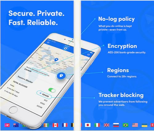 SurfEasy VPN cho iPhone