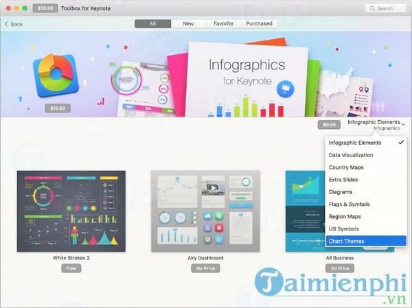 Download Toolbox for Keynote for Mac 3 7 4 - Mua và download đồ họa ch