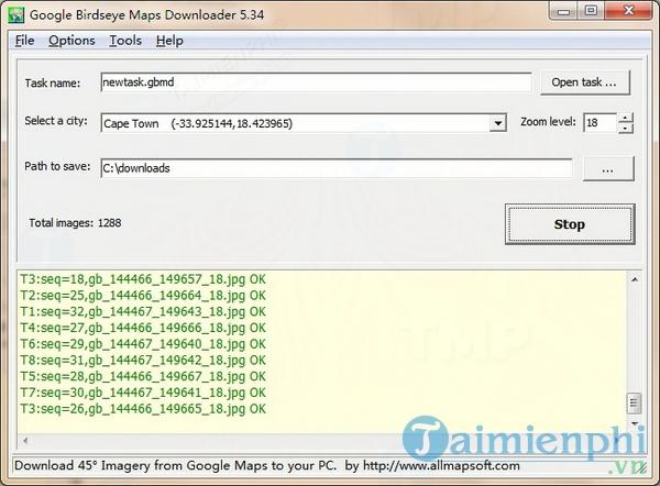 Google Birdseye Maps Downloader