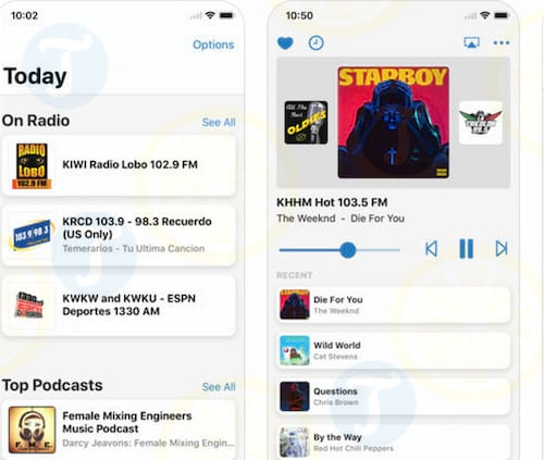 iPlay Radio & Music Player cho iPhone