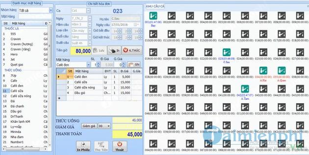 Phần mềm quay số tự động chọn vé câu cá - Khu câu cá giải trí - Câu cá giải Phú Lợi