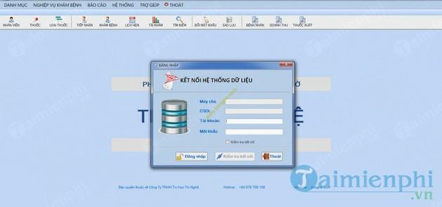 Phần mềm quản lý Nhà Thuốc, hiệu thuốc tây Phú Lợi