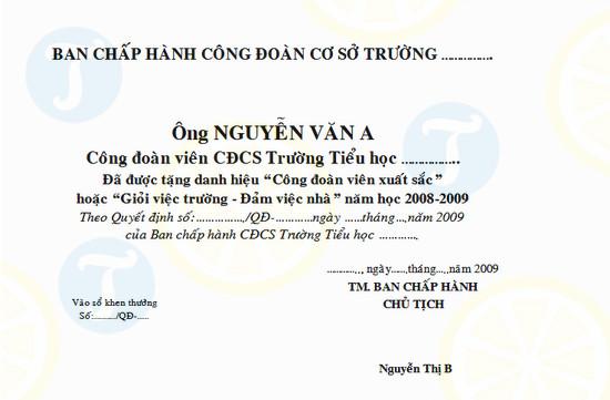 download mau giay khen cong doan