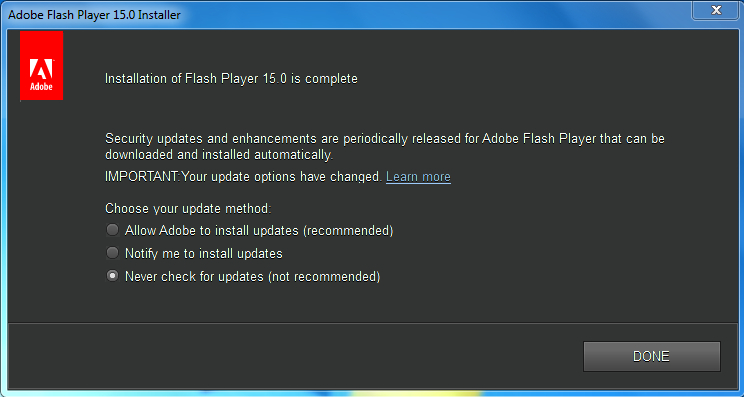 flash player 11.9
