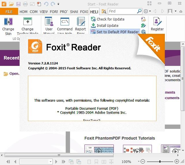 what is foxit reader pdf printer