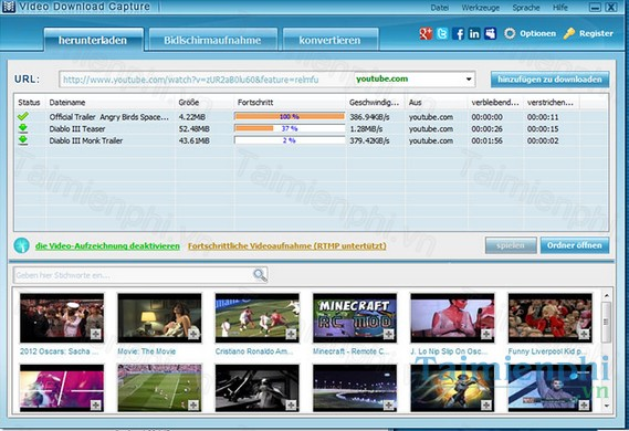 tai video download capture