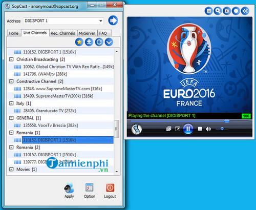 download sopcast