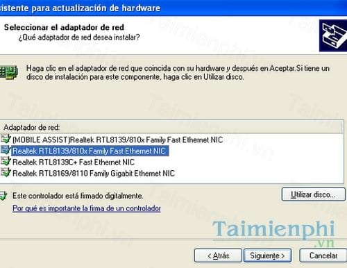 Rtl8139 Family PCi Fast Ethernet Nic Driver скачать