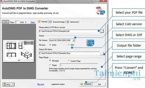 pdf to dwg file converter online