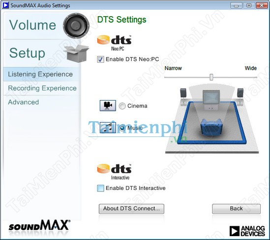 Download Intel SoundMAX Integrated Digital Audio drivers ...