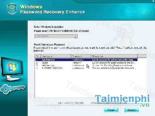 Windows Password Recovery Corporation