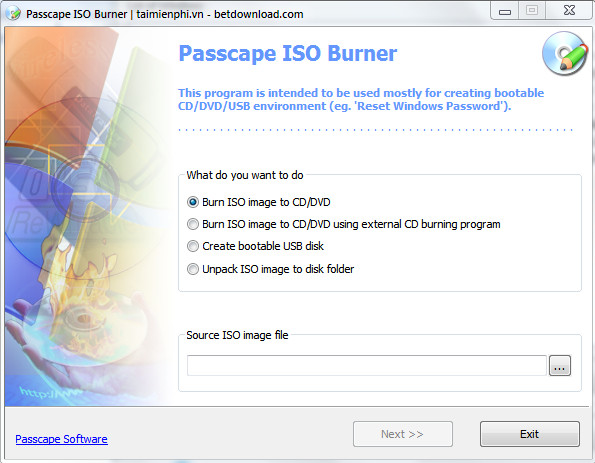passcape iso burner 1.3.0