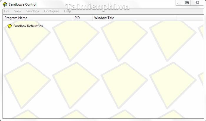 Download Sandboxie 5 30 - Tăng cường an toàn khi duyệt web