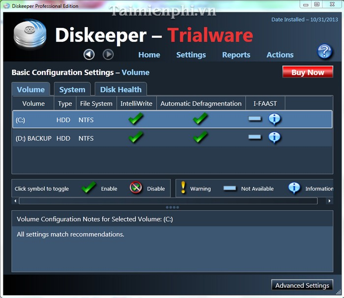 diskeeper professional 9