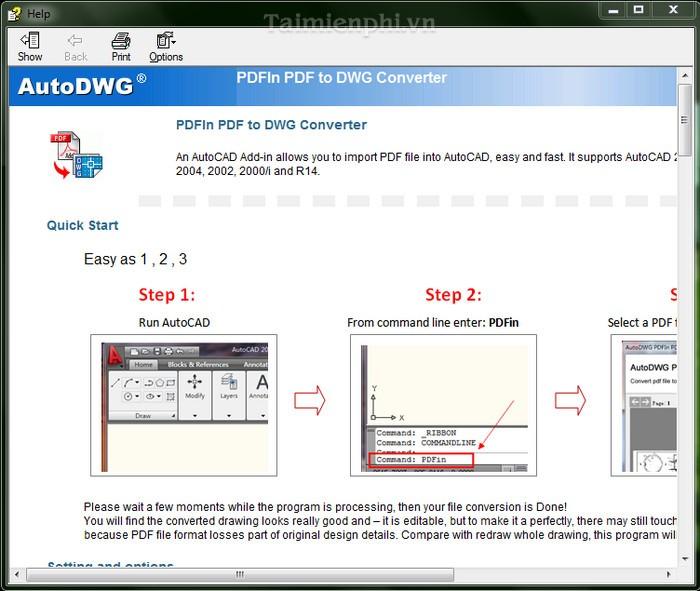 Download PDF To DXF Converter 2012
