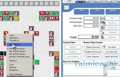 Download CyberCafePro 6 5 1 Server / 6 3 17 Client - Quán lý mạng nội
