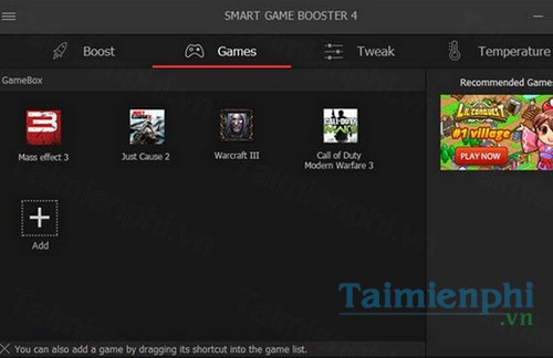 Download Smart Game Booster 4 1 1 3192 - Cải thiện chất