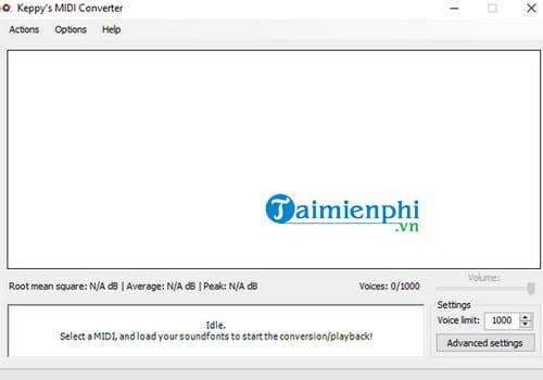 Download Keppy's MIDI Converter 18 2 8 - Chuyển đổi định dạng nhạc MI