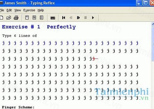 Typing Reflex