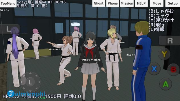 school girls simulator