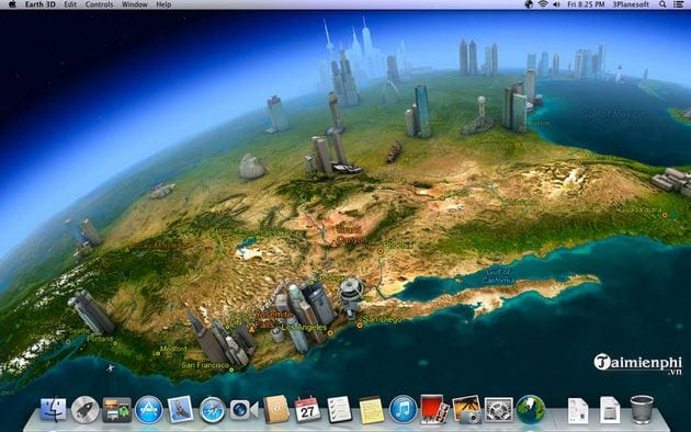 earth 3d for mac
