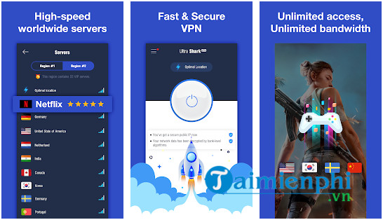 ultrashark vpn