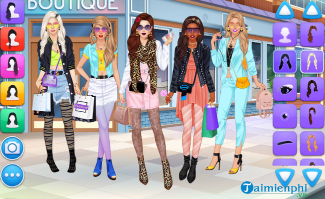 college girls team makeover