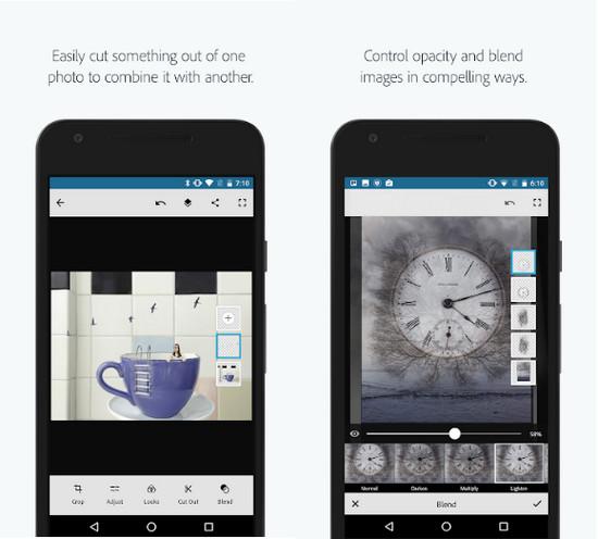 Download Adobe Photoshop Mix Cho Android - Trình cắt dán, tạo ảnh ghép