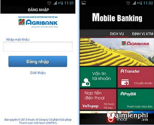 agribank mobile banking