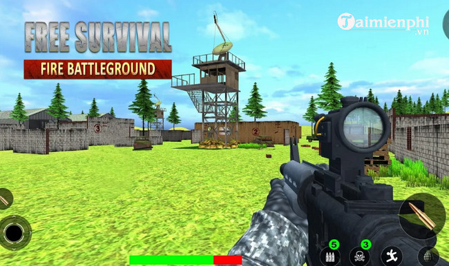 free fire survival battlegrounds