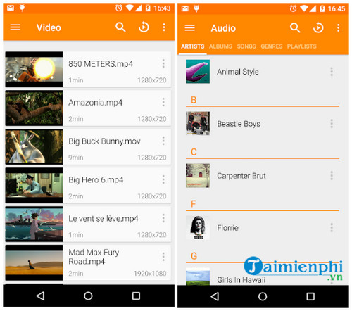 vlc cho android