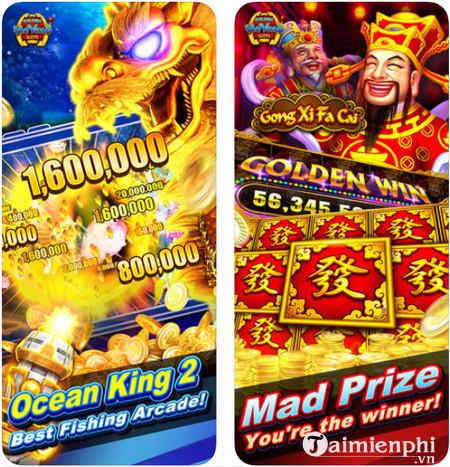 Download Golden HoYeah Slots cho iPhone - Game mô phỏng máy chơi xèng tại các sòng bài nổi tiếng Golden-hoyeah-slots