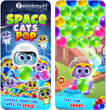 space cats pop