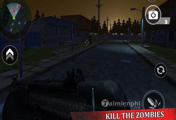 survival vs zombie battle